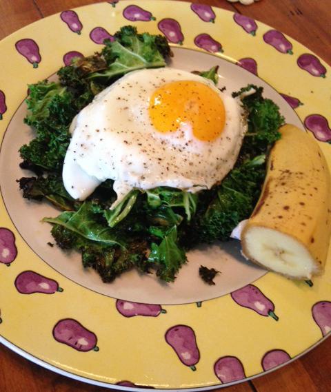 Sunny Side Up Kale