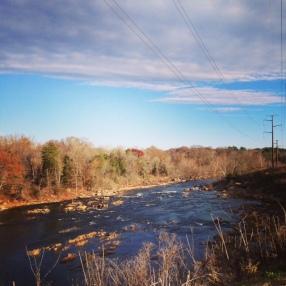 Rappahannock River in Fredricksburg, VA